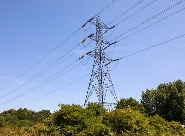 A View Of An Electricity Pylon