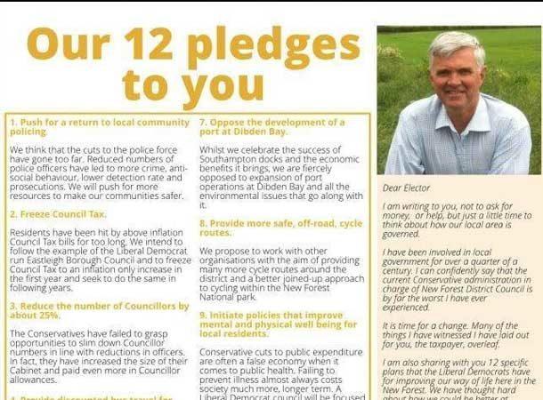 Our 12 Pledges