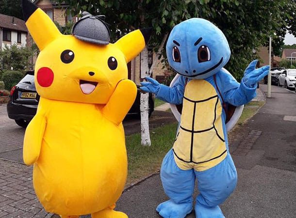 Pikachu&squirtle