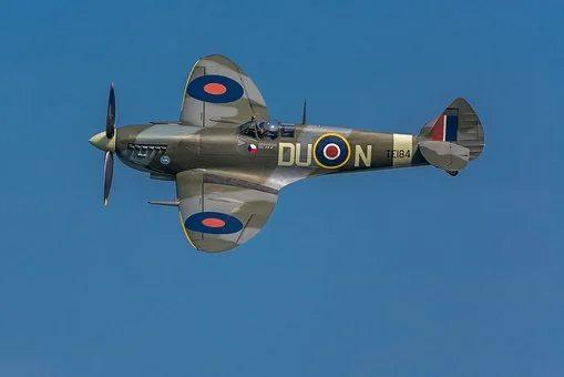 Spitfire Flying Overhead...