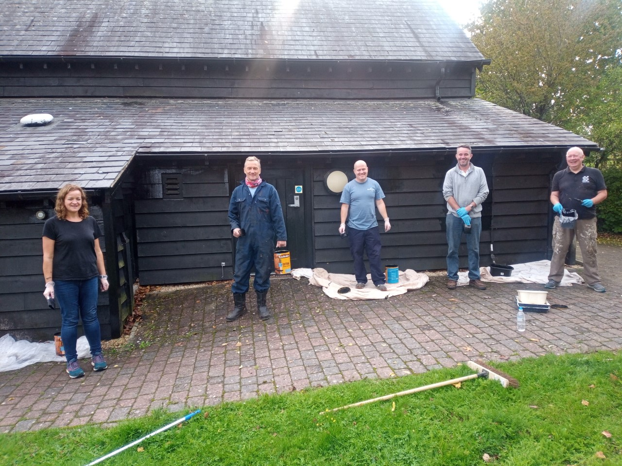 Thank You To The Volunteers At Ordnance Survey For Painting