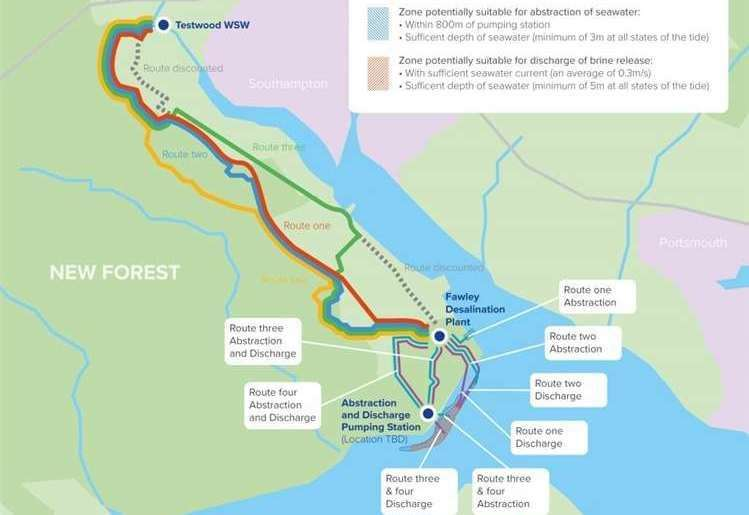 Opposition To £600m Water Plant Plan